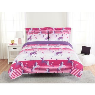 Show Unicorns 3-piece Comforter Set