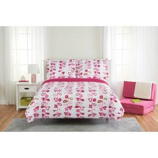 Floral Vine 3-piece Comforter Set