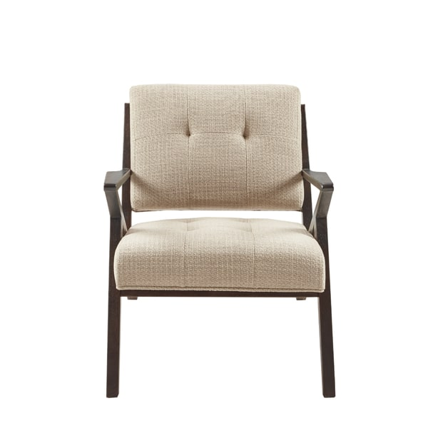 Wondrous Shop Ink Ivy Rocket Tan Upholstery Wood Frame Lounge Chair Alphanode Cool Chair Designs And Ideas Alphanodeonline