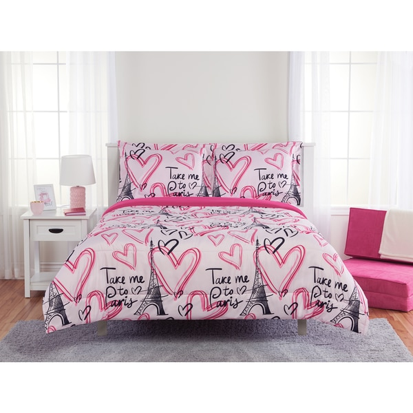 Take me to Paris 3-piece Comforter Set