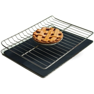 2-Pack Heavy-Duty Reusable Baking Mat Non-stick Oven Liner