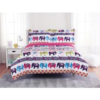 Elephant 3-piece Comforter Set