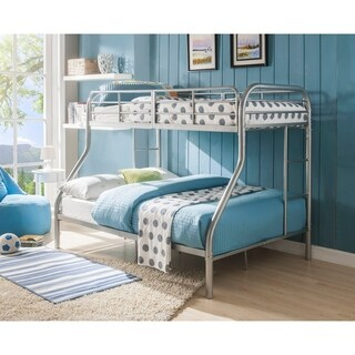 Acme Tritan Silver Twin-over-full Bunk Bed