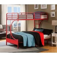 Shop Dhp Twin Over Futon Black Metal Bunk Bed Free