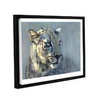 Mark Adlington's 'Predator II' Gallery Wrapped Floater-framed Canvas