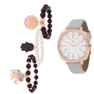 ROSE Fortune NYC Women's WATCH AND BRACELET SET