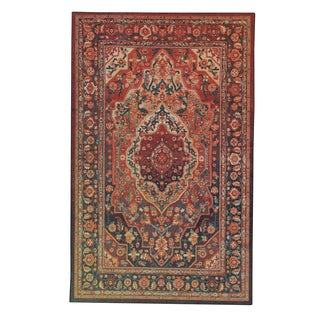 Old World Persian Red Multi Rug 6 7 X 9 6 Free