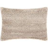 """Joseph Abboud Loop Cut Linen Throw Pillow  (14"""" x 20"""")"""