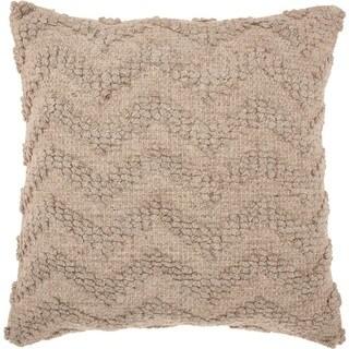 "Joseph Abboud Loop Chevron Linen Throw Pillow (22"" x 22"")"
