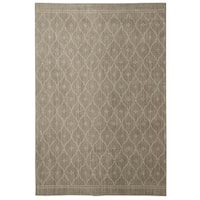 Under the Canopy Mohawk Studio Palais Grey/Beige Area Rug - 5'3 x 7'10