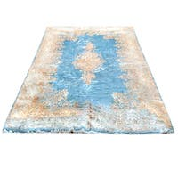 Handmade Herat Oriental Persian Hand-knotted Semi-Antique Kerman 1960's Wool Rug (10' x 17'3) - 10' x 17'3