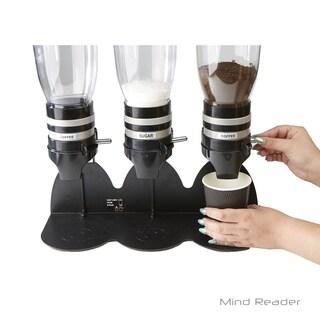 Mind Reader Metal Triple Standing Base Coffee Dispenser