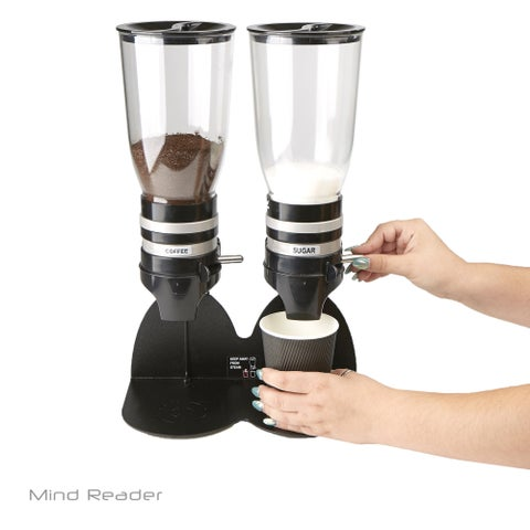 Mind Reader Metal Double Standing Base Coffee Dispenser