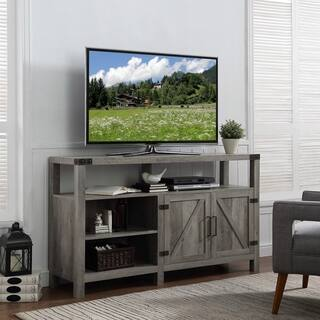 tv stand for living room. 58 inch Barndoor Highboy TV Stand Media Console Stands Living Room Furniture For Less  Overstock com