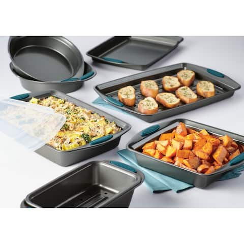 Rachael Ray Yum-o! Nonstick Bakeware 10-Piece Oven Lovin' Bakeware Set