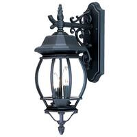 Acclaim Lighting Chateau Collection 3-Light Outdoor Matte Black Wall Light