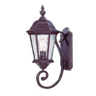 Acclaim Lighting Telfair Collection Wall-Mount 1-Light Outdoor Marbleized Mahogany Light Fixture