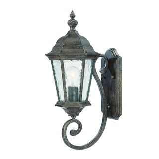 Link to Acclaim Lighting Telfair Collection Wall-Mount 1-Light Outdoor Black Coral Light Fixture Similar Items in Track Lighting