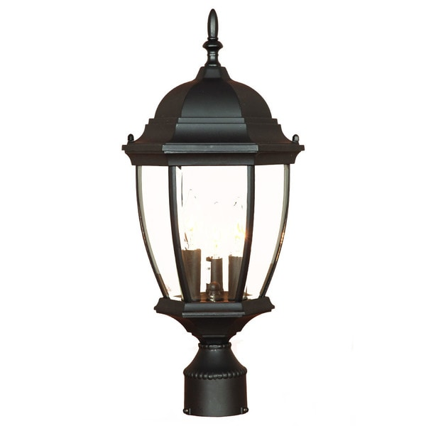 Acclaim Lighting Somerset 1 Light Matte Black Outdoor Post: Shop Acclaim Lighting Wexford Collection Post-Mount 3