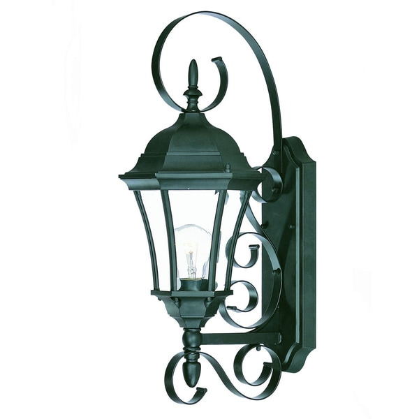 Acclaim Lighting New Orleans Collection 1-Light Outdoor Matte Black Wall Light. Opens flyout.