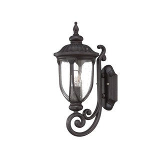 Acclaim Lighting Laurens Collection Wall-Mount 1-Light Outdoor Black Coral Light Fixture