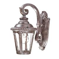 Acclaim Lighting Surrey Collection Wall-Mount 1-Light Outdoor Black Coral Light Fixture