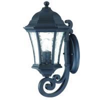 Acclaim Lighting Waverly Collection Wall-Mount 1-Light Outdoor Matte Black Light Fixture
