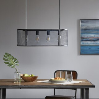 Ink+Ivy Hopkins Black Pendant Light
