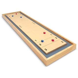 GoSports Shuffleboard and Curling 2 in 1 Board Game