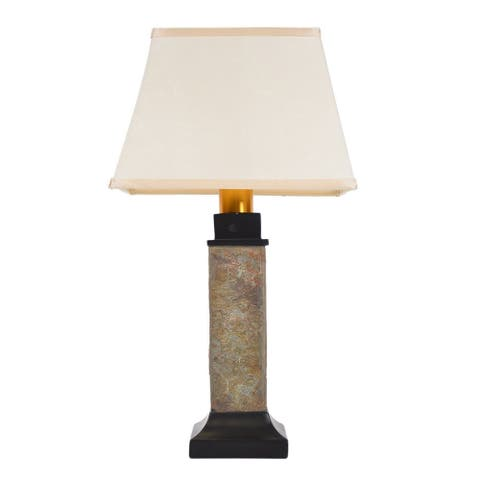 Torch Light ST913B Natural Slate Wireless All-Weather Table Lamp
