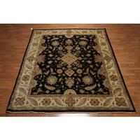 Gold/Beige Wool Oushak Persian Oriental Area Rug - 8' x 10'