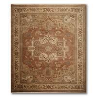 "Pure Wool Serapi Karastan Oriental Area Rug - 8'8""x10'"