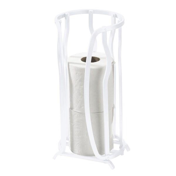 Aluminum Toilet Paper Reserve - White