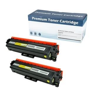 HP410X (CF412X) Compatible Yellow Toner Cartridge (Set of 2)