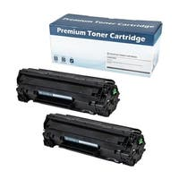HP 78A (CE278A) Compatible Toner Cartridge (Black) (Set of 2)