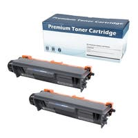 Brother 'TN750' Black Compatible Toner Cartridge (Set of 2)