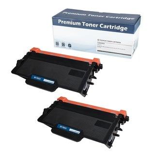 Brother TN850-compatible Black Toner Cartridge (Set of 2)