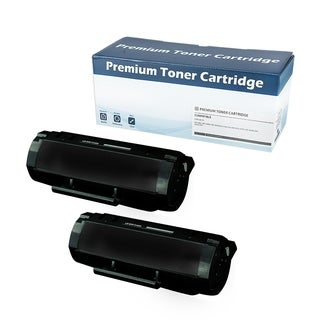 Lexmark 501H (50F1H00) compatible Black Toner Cartridge (Set of 2)