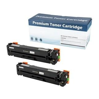 HP 410A (CF410A) Compatible Black Toner Cartridge (Set of 2)