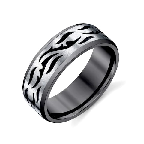 Men's Two Tone Stainless Steel Band
