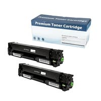 HP 201X (CF400X) Compatible Black Laser Toner Cartridge  (Set of 2)