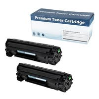 HP 83A (CF283A) Compatible Toner Cartridge (Black)  (Set of 2)