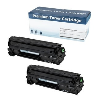CANON 137 (9435B001AA) Compatible Toner Cartridge (Black) (Set of 2) - Black