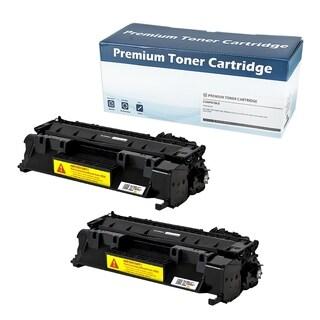 HP CE505A Compatible Toner Cartridge (Black) (Set of 2)