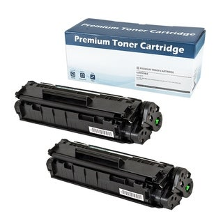 HP Q2612A  Compatible Toner Cartridge (Black)  (Set of 2)