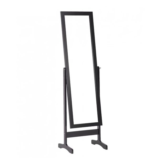 Shop Floor Standing Dressing Mirror Full Length Cheval Mirror Wooden ...