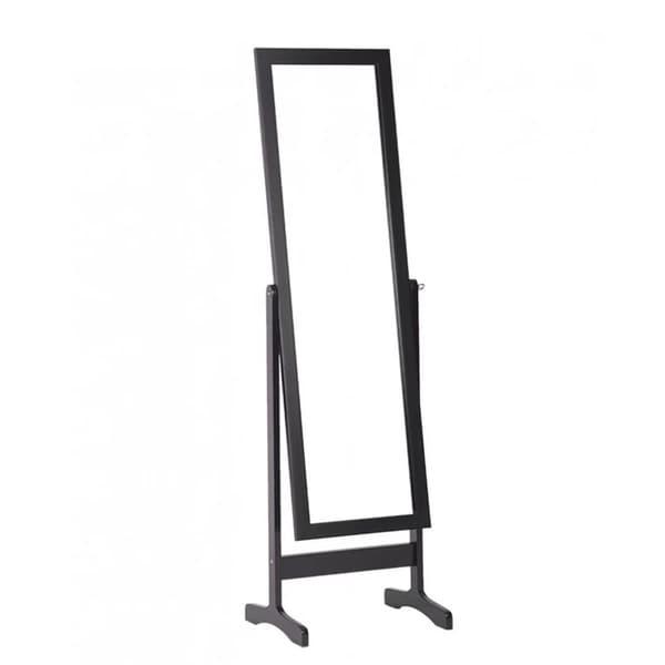 Floor Standing Dressing Mirror Full Length Cheval Mirror Wooden ...