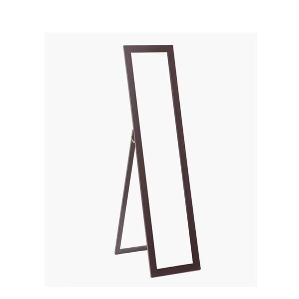 Dressing Mirror Floor Standing Full Length Cheval Mirror Wooden Frame
