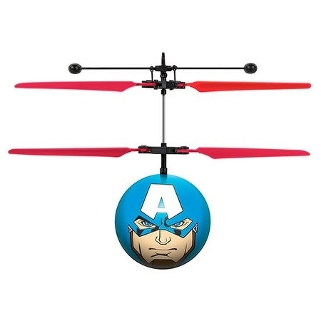 10a890fb612a0 Shop World Tech Toys Marvel Avengers Captain America IR UFO Ball Helicopter  - Free Shipping On Orders Over  45 - Overstock - 18829101