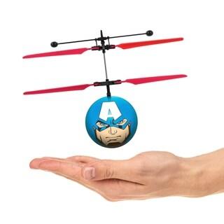 World Tech Toys Marvel Avengers Captain America IR UFO Ball Helicopter